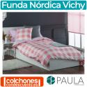 Juego de Funda Nórdica Vichy de Confecciones Paula