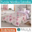 Juego de Funda Nórdica Estrellas de Confecciones Paula