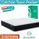 Colchón Town Pocket de Dormilón