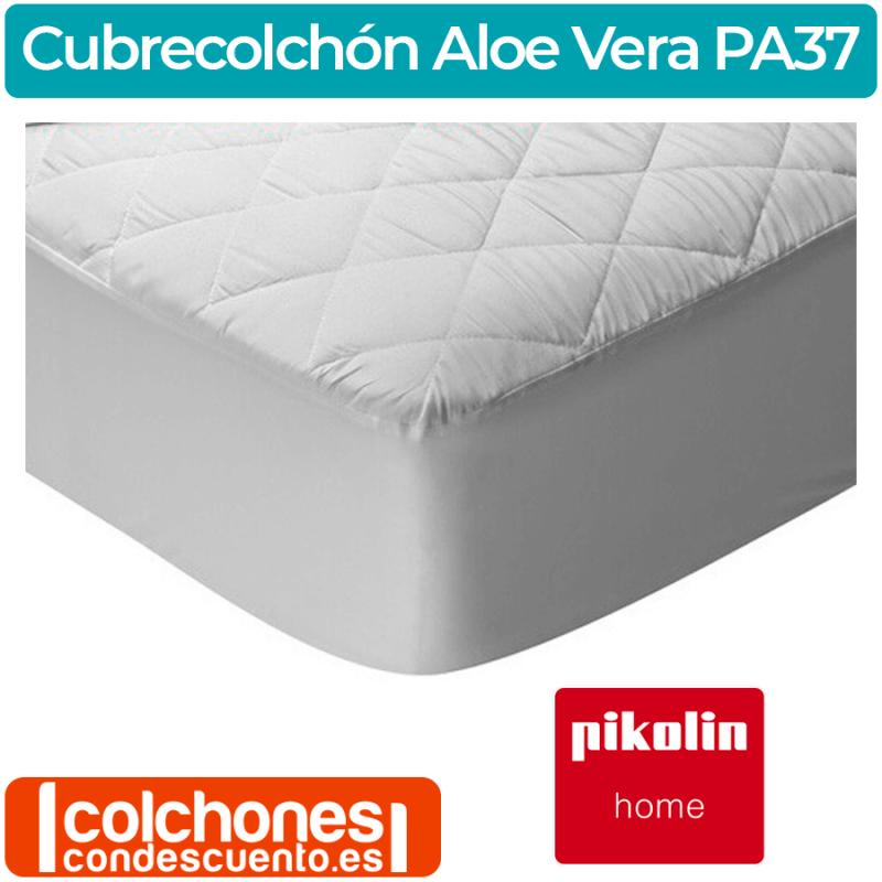 Protector de Colchón Acolchado Aloe Vera PA37 de Pikolin Home