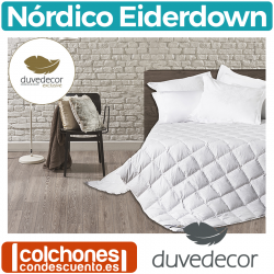 Relleno Nórdico de Lujo Eiderdown de Duvedecor