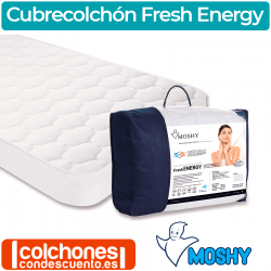 Cubrecolchón Termorregulador 135x190 Fresh Energy de Moshy OUTLET
