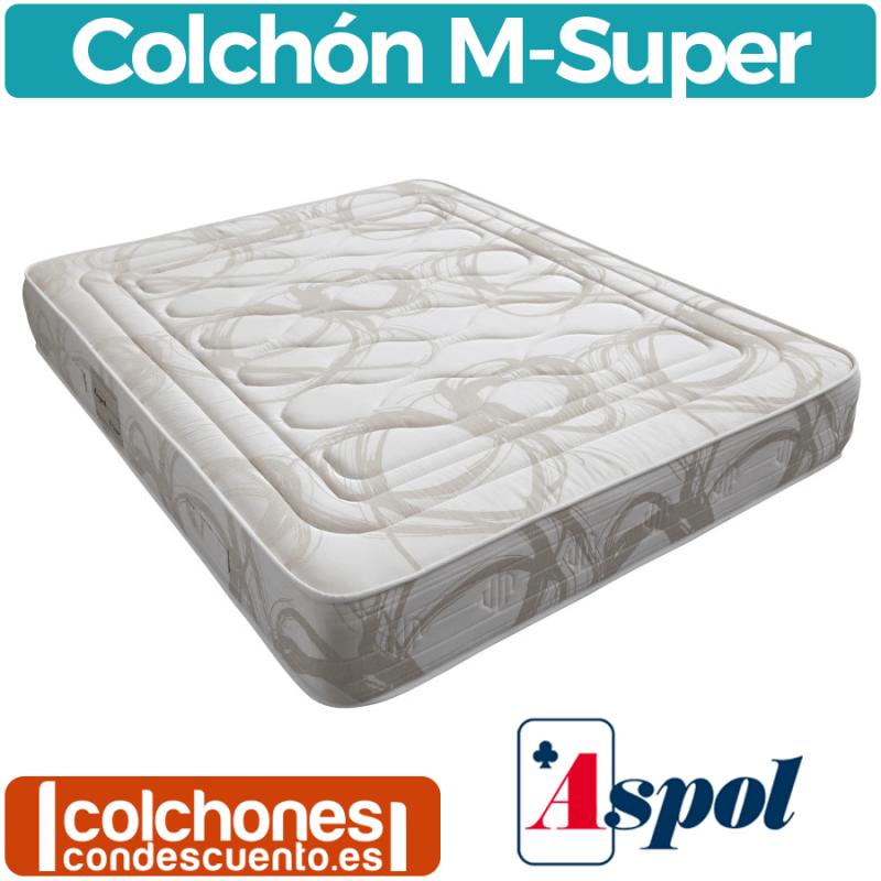 Colchón de muelles M-Super de Aspol