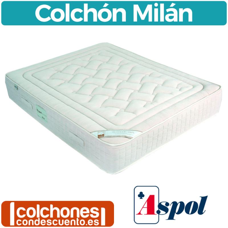 Colchón muelles Milán de Aspol