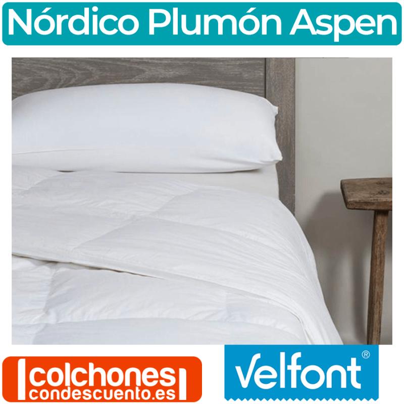Relleno Nórdico Aspen 95% Plumón de Velfont