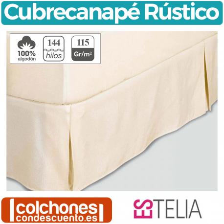 Cubre Canapé Rustico Liso de Es-telia