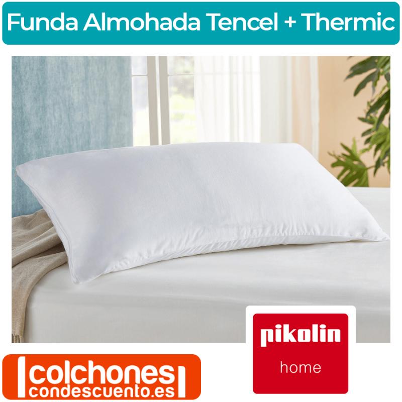 Funda de Almohada Tencel® + Thermic® FA19 de Pikolin Home