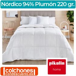 Relleno Nórdico 94% Duvet 220 gr RP89 de Pikolin Home
