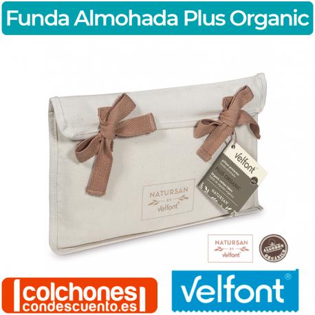 Funda almohada Plus Organic Velfont