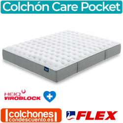 Colchón Hipoalergénico Flex Salus Care Pocket