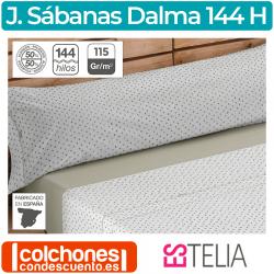Juego de Sábanas 50% algodón y 50% poliéster Es-Tela Dalma 144 hilos