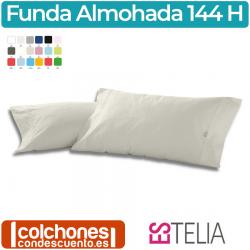 Funda de Almohada Liso Combi 50% Algodón/50% Poliéster 144 Hilos de Estelia