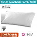 Funda de Almohada Liso Combi Algodón 300 hilos Biés de Estelia