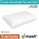 Funda de Almohada Tencel Color 100% de Mash