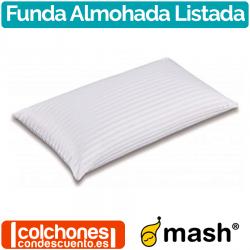 Funda de Almohada Listada de Mash