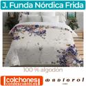 Juego Funda Nórdica Algodón Frida de Manterol Casa