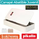 Canapé Juvenil Abatible Pikolin Naturbox de Madera y Apertura Lateral
