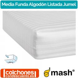 Media Funda de Colchón Algodón Listado Jumel de Mash