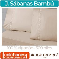 Juego de Sábanas de 300 hilos Modelo Bambú de Manterol