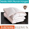 Relleno Nórdico Plumón 100% Oca Húngara 120 gr de Klinun