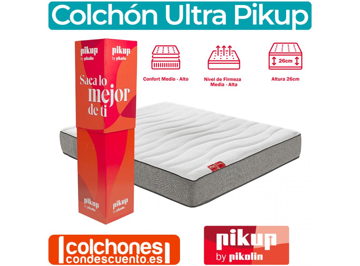 Colchón Enrollado PIKUP ULTRA by Pikolin