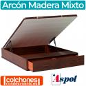 Canapé Abatible Mixto de Madera de Aspol