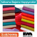 Sábana Bajera Ajustable Happycolor 50% Algodón y 50% Poliéster Reig Martí