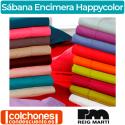 Sábana Encimera Happycolor 50% Algodón y 50% Poliéster Reig Martí