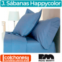 Juego de Sábanas Happycolor 50% Algodón y 50% Poliéster Reig Martí