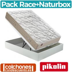 Pack Canapé de Naturbox + Colchón Race de Pikolin