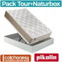 Pack Canapé de Naturbox + Colchón Tour de Pikolin