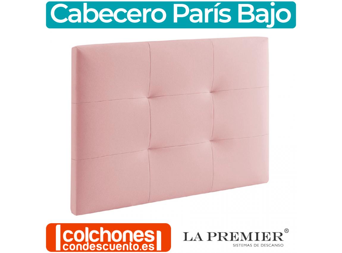 Cabecero Moderno París Bajo de La Premier