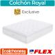 Colchón Royal Flex Exclusive 80x190 cm OUTLET Colección 2020