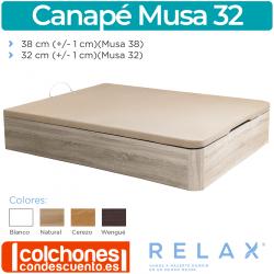 Canapé Abatible Transpirable Evoque de Relax