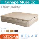 Canapé Abatible Transpirable Musa 32 de Relax