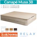 Canapé Abatible Transpirable Musa 38 de Relax