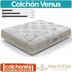 Colchón Muelles Ensacados Venus de Magister
