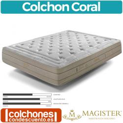 Colchón muelles ensacados Coral de Magister