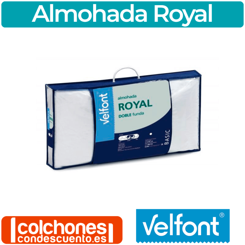 Almohada Fibra Royal de Velfont®