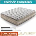 Colchón Muelles Ensacados Coral Plus de Magíster