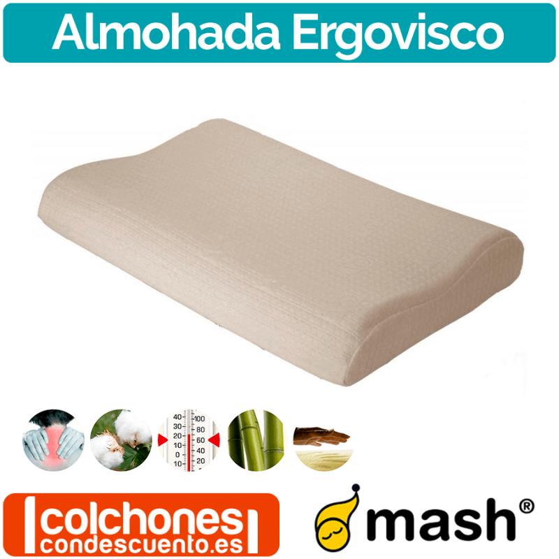 Almohada Ergovisco de Mash OUTLET