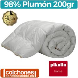 Relleno Nórdico 200 gr 98% Plumón Oca Blanca de Pikolin Home