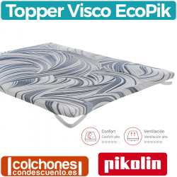 Topper Viscoelástico EcoPik Visco 6 cm de Pikolin