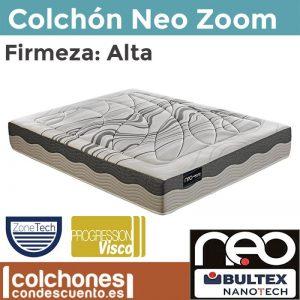 Colchón Neo Zoom con tecnología nanotech de Bultex mejor colchon