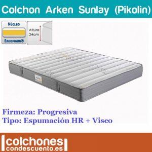 Colchón Arken de Sunlay de espumación hr y visco