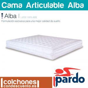 Colchón articulable Alba con tratamiento sanitario de Pardo mejores colchones