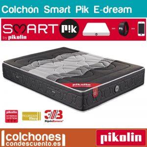Colchón Smartpik E-dream con muelles ensacados y viscoelástico de Pikolin mejor colchon