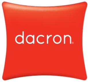 Logo de la fibra hueca siliconada Dacron de Mash protección contra los ácaros