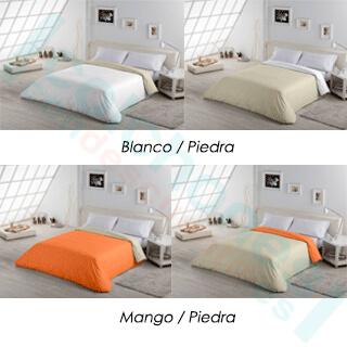 f.n bicolor algodon estelia blanco-piedra y mango-piedra
