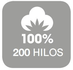 200 hilos